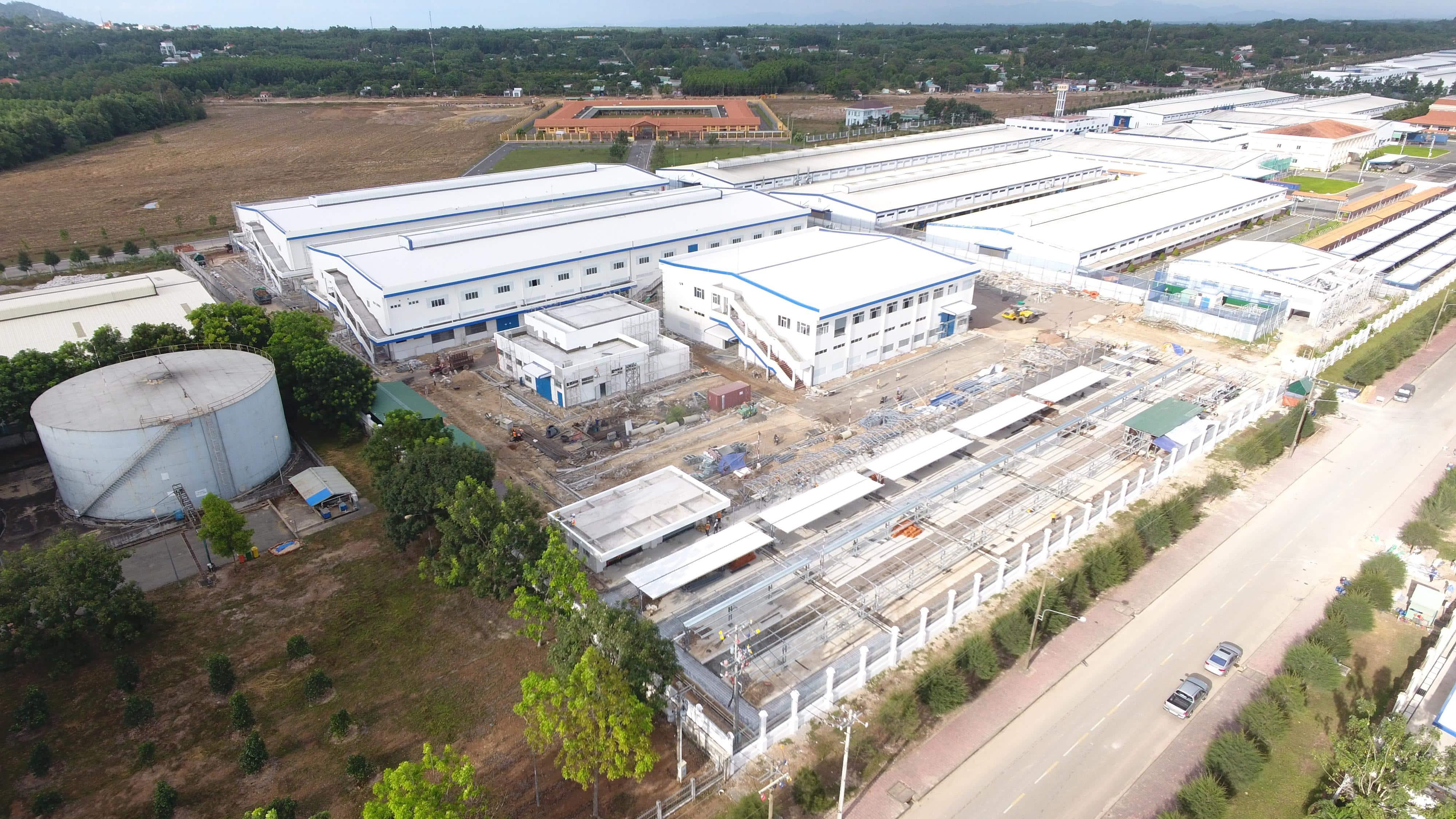 Thiết kế kết cấu thép nhà xưởng dệt may