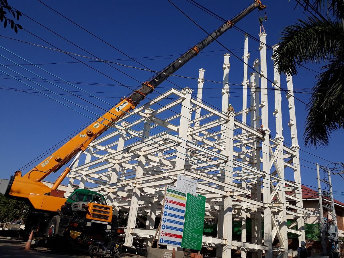 Quy trình xây dựng kết cấu thép nhà xưởng từ A đến Z