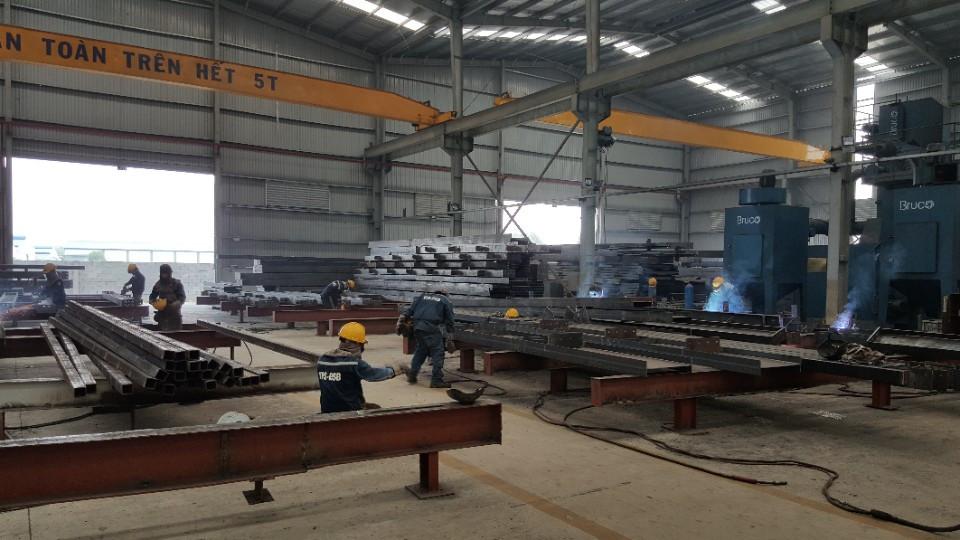 Sự quan trọng của sản xuất kết cấu thép trong ngành xây dựng