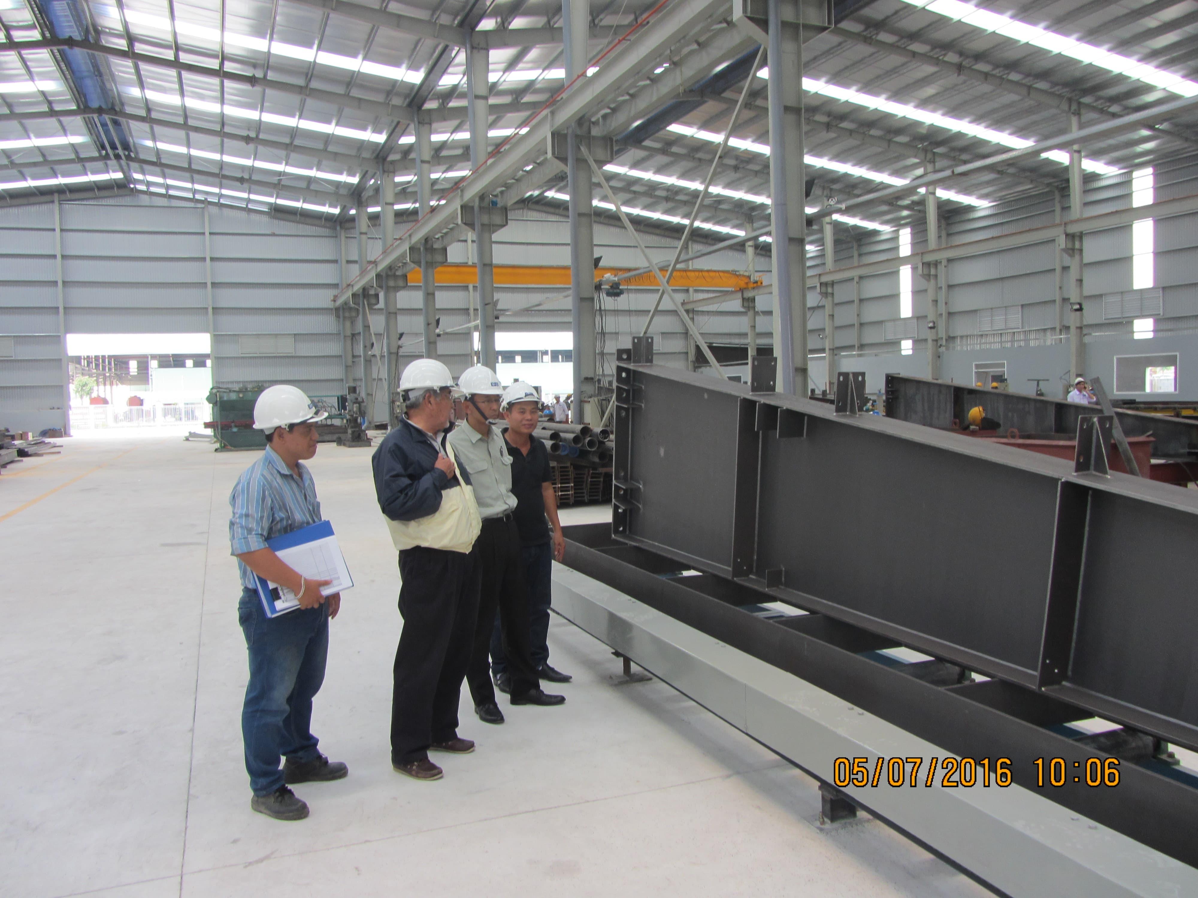 Sản xuất kết cấu thép và quy trình kiểm soát chất lượng từ A tới Z